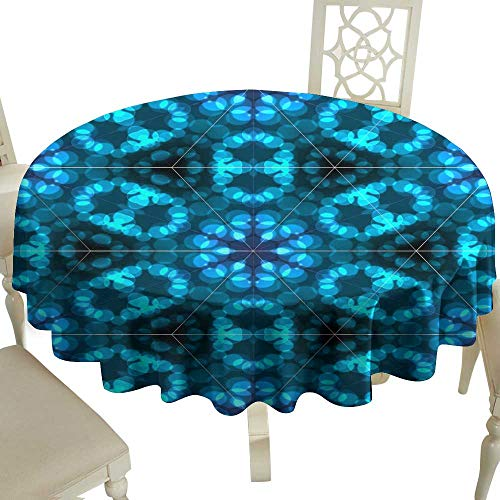 - Iridescent cloud Stain-Resistant Tablecloth Abstract Colorful Light Bokeh Wallpaper Texture Background for Kitchen Dinning Tabletop Decoration D35