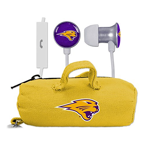 AudioSpice NCAA Northern Iowa Panthers Scorch Earbuds and Mic Clamshell with BudBag from AudioSpice