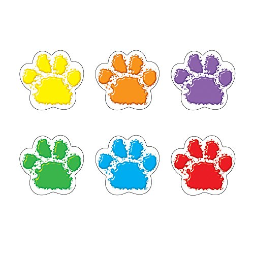 Price comparison product image Trend Enterprises Paw Prints Mini Accents Variety Pack (36 Piece)
