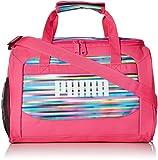 PUMA Girls' Evercat Transformation JR Duffel Bags, Pink/Multi, One Size