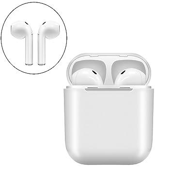 Auriculares Bluetooth, Auriculares inalámbricos Deporte en calidad de sonido HD, con cargador portátil Auriculares inalámbricos Auriculares inalámbricos ...