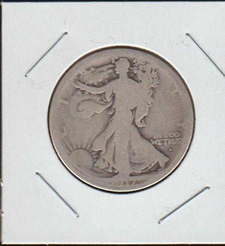 1917 S Liberty Walking (1916-1947) (Obverse Mintmark) Half Dollar (Walking Liberty Half Dollar Mintmark)