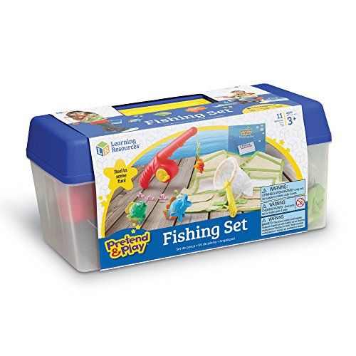 51eDfFFMhHL - Learning Resources Fishing Set, 11 Pieces