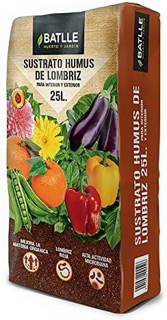Sustratos Ecológicos - Sustrato Humus Lombriz 25l. - Batlle ...