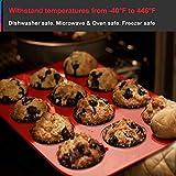Walfos Reusable Top Silicone Muffin & Cupcake