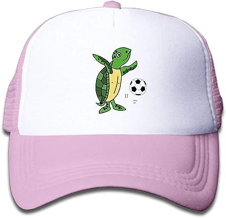 Xukmefat Linda Tortuga Marina Jugando a fútbol Gorras de béisbol ...