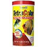 Tetra 16262 10.58-Ounce, 1-Liter Color Tropical Granules