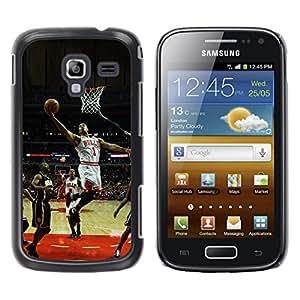 iKiki Tech / Estuche rígido - Bulls Basketball 1 - Samsung Galaxy Ace 2