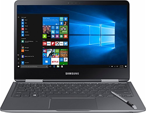 Samsung Notebook 9 Pro NP940X3M-K01US 13.3 Touch Screen Laptop, Intel Core i7-7500U Up To 3.5GHz, 8GB DDR4, 256GB SSD, Backlit...