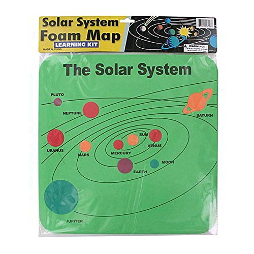 72 foam solar system map by FindingKing