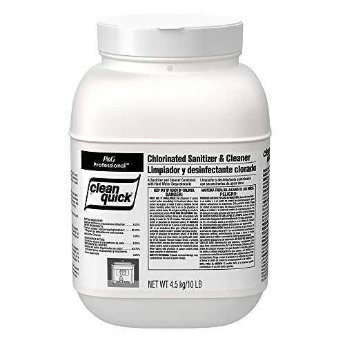 Clean Quick PGC 02580 Dawn Powdered Sanitizer/Cleanser, 10 lb. Bucket (Pack of 3)