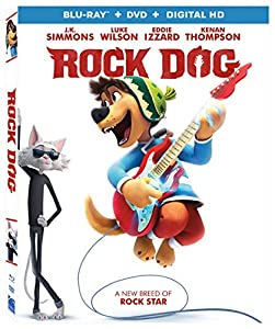 Cover Image for 'Rock Dog [Blu-ray + DVD + Digital HD]'