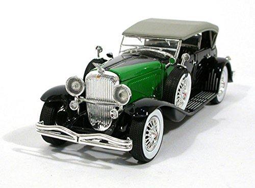 1934 Duesenberg, Black - Signature Models 32310 - 1/32 Scale Diecast Model Toy Car (Car Diecast Metal Model)