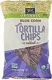 365 Everyday Value, Organic Blue Corn Salted Tortilla Chips, 12 oz