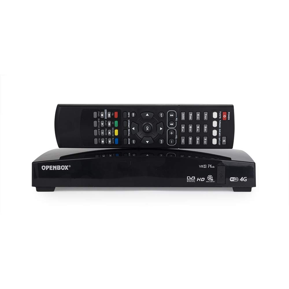 Ocamo Openbox V8S Plus DVB-S2 Digital Satellite Receiver Support Card Sharing Xtream Portugal YouTube USB WiFi MGCAMD DVB S2 US Plug