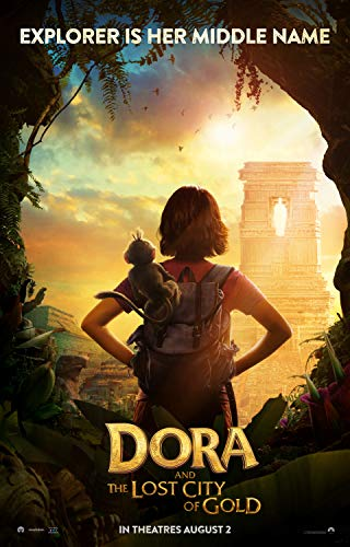 Dora Gold - newhorizon Dora and The Lost City of Gold Movie Poster 17'' x 25'' NOT A DVD