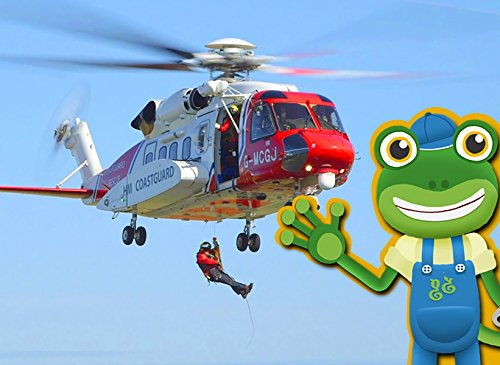Gecko and the Rescue Helicopter