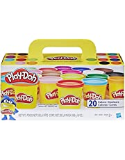 Hasbro A7924AS5 Play-Doh Super Color Pack of 20 Cans