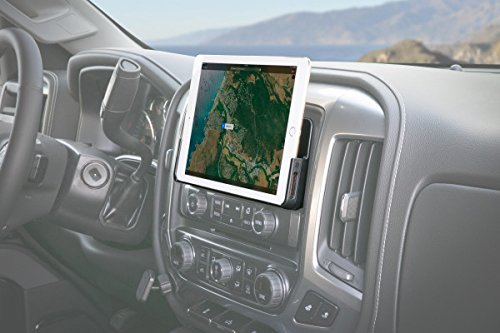 SCOSCHE IDKGM01 2014 – Up Chevy Silverado/GM Sierra Dash Mount for iPad with 8″ MyLink Display