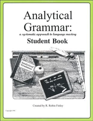 - Analytical Grammar A Systematic Approach to Language Mastery - Student Book