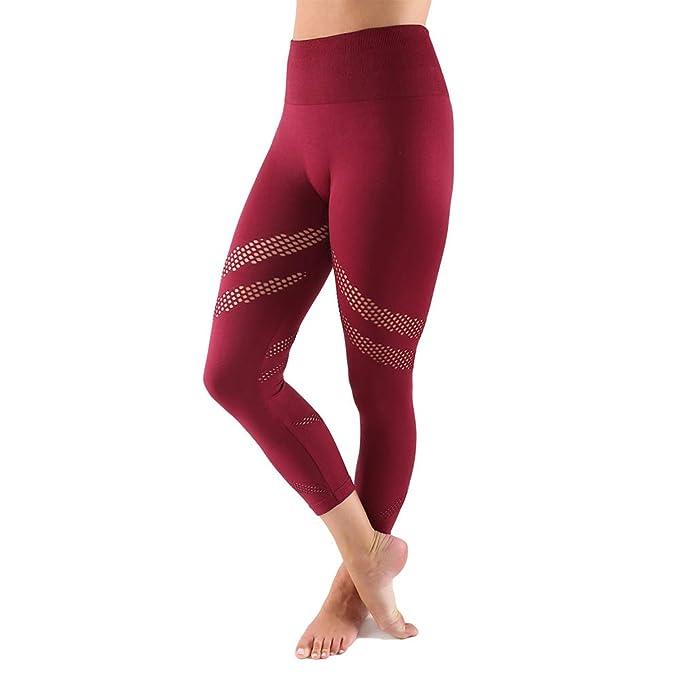 1d83146d69e45 Women's Active Capri Leggings - High Waisted Yoga Pants - Super Soft &  Stretchy Fabric -