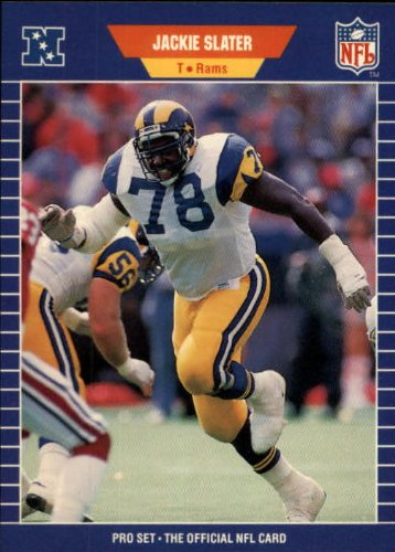 Jackie Card Slater (1989 Pro Set Football Card #207 Jackie Slater Mint)
