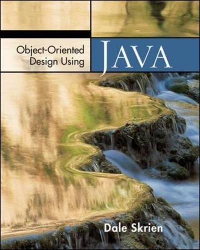 Object-Oriented Design Using Java by McGraw-Hill Education