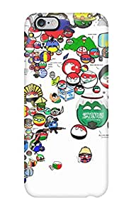 Fashionable Style Case Cover Skin For Iphone 6 Plus- Map