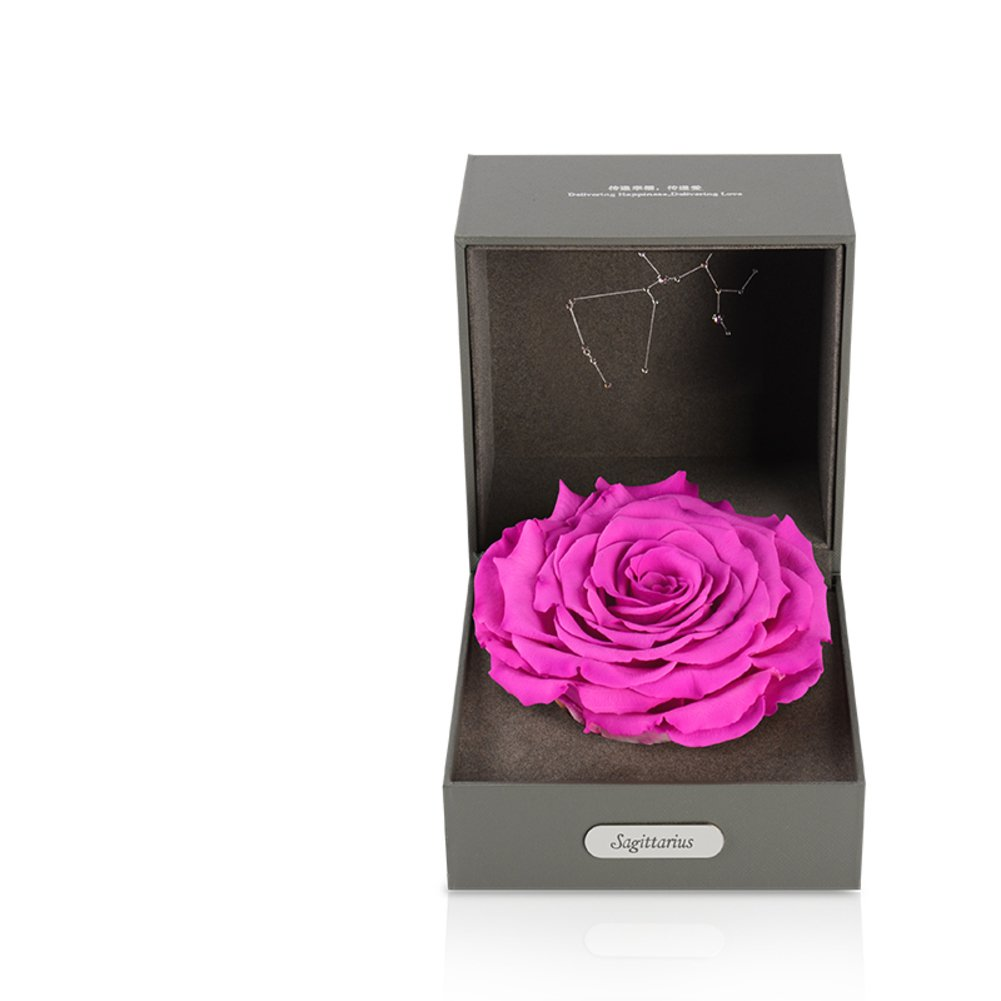 Imported Live Flower Gift Box/Fresh Colorful Roses/ Birthday Gift For Mother's Day-G