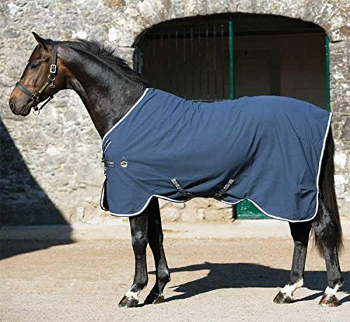 Rambo Grand Prix Helix Stable Sheet 81 Navy/Beige