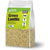 Absolute Organic Green Lentils, 400g