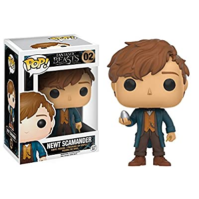 Funko POP Movies: Fantastic Beasts - Newt w/Egg Action Figure: Funko Pop! Movies:: Toys & Games