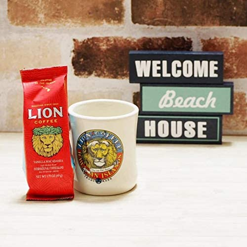 ライオンコーヒー 選べるお試しサイズ & マグカップ セット