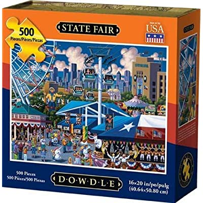 Dowdle Jigsaw Puzzle - State Fair - 500 Piece: Toys & Games