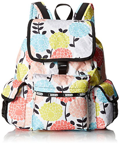 LeSportsac Voyager Backpack, Garden Mum, One Size