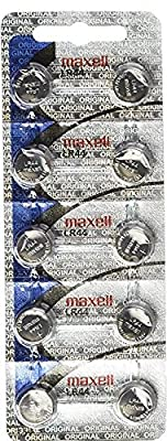 Maxell LR44 AG13 357 button cell battery
