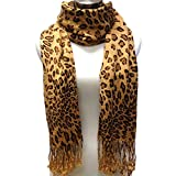 Premium Fashion Animal Print Leopard Shawl Scarf Wrap