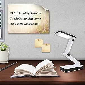 Galapara デスクライト テーブルランプ LED 電気スタンド USB 充電式 ...