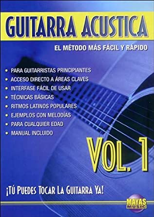 Guitarra Acustica, Vol 1: Tu Puedes Tocar La Guitarra YA! (Spanish Language