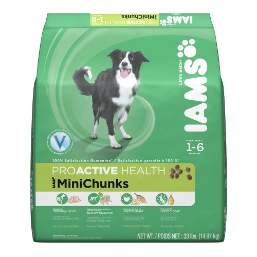Iams ProActive Health Adult Dog MiniChunks, 33-Pound, My Pet Supplies
