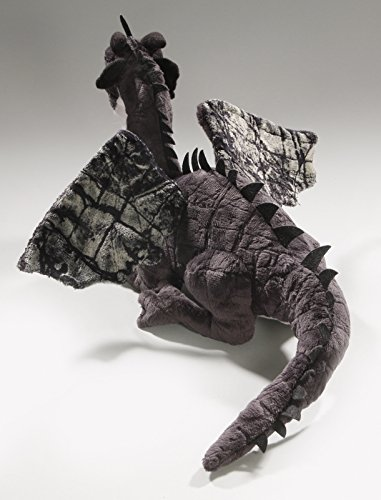 Drago Nero Seduta 30cm 2626004 Carl Dick Peluche