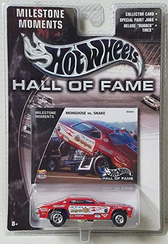 2003 Hot Wheels Hall of Fame Series - Milestone Moments Hall Of Fame 35th Anniversary Mongoose vs Snake Funny Car B0940