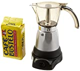 Electric Espresso Coffee Makes 3-6 Cups. 10 oz Bustelo Espresso Coffee Pack Included For Sale