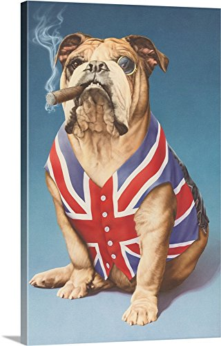 Andrew Farley  British Bulldog - Bulldog wall decor