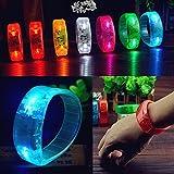Led Night Lights - Voice Control Led Light Glows Wristbands Bracelet B Party Concert - Voice Control Led Bracelet - 1PCs