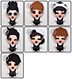 [SET of 7] BTS Bangtan Boys - No more dream KPOP Handmade Doll Keychains