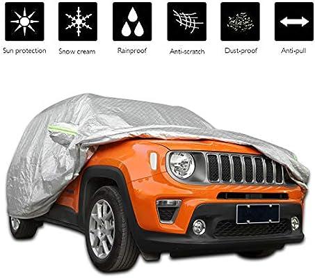 COV resistente al agua y Transpirable Coche Cubierta De Protección Al Aire Libre Completo De Jeep Cherokee