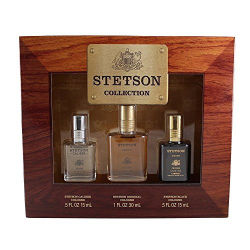 - Coty Stetson Collection 3 Piece Gift Set for Men