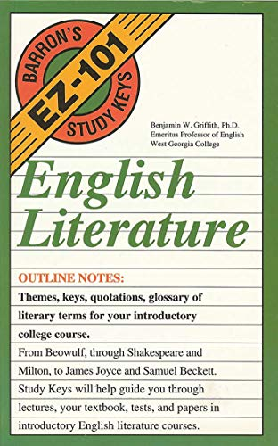 English Literature (EZ-101 Study Keys)
