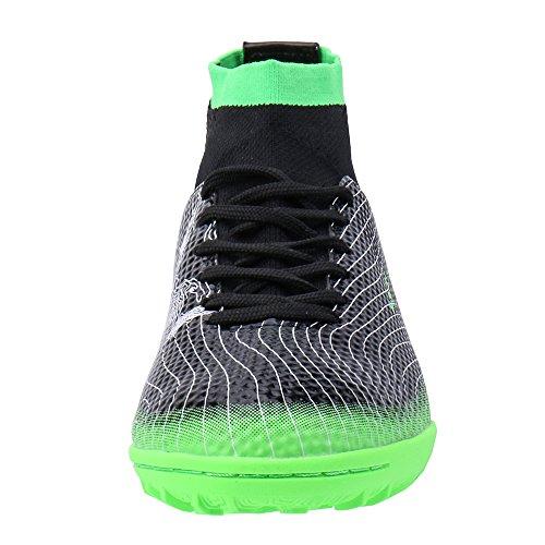 690087c84 ALEADER Boy s Athletic Turf Indoor Soccer Shoes Football Boots (Little Kid Big  Kid)